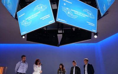 Xonne e Liberi di Muoversi all'evento Samsung che chiude #App4Tomorrow