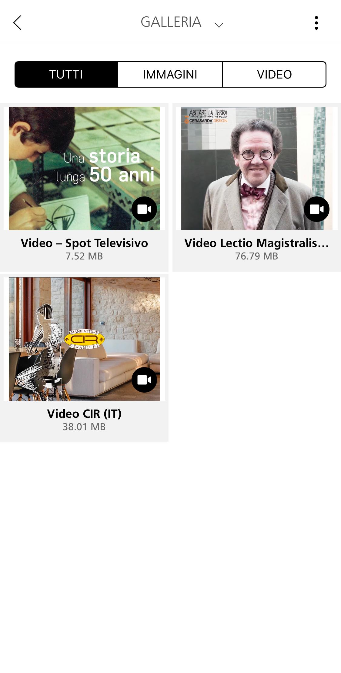 Media: immagini e video