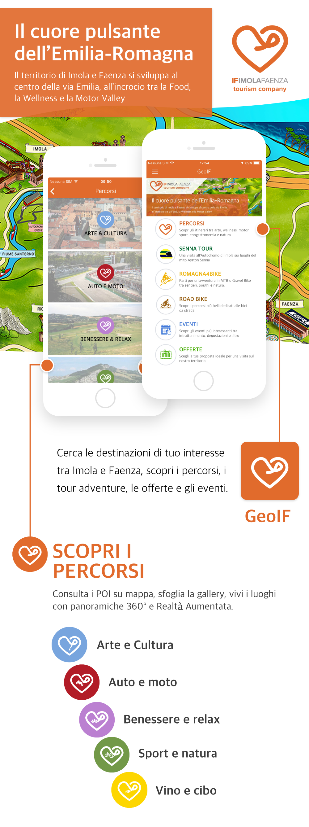 Cos'è GeoIF è un Tourist Mobile Applicatio...
