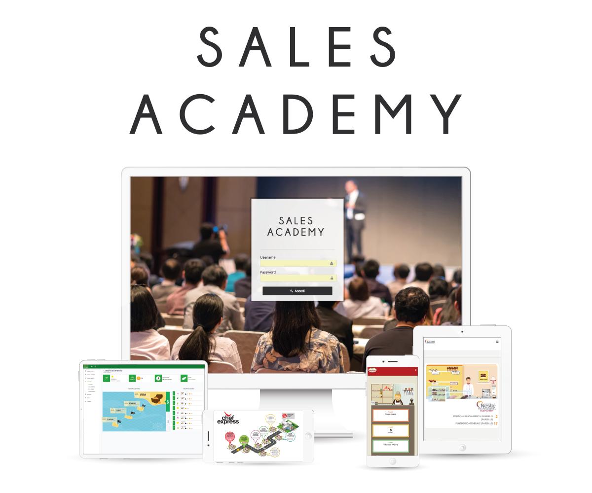 Come Funziona? Sales Academy è uno strumento per ...