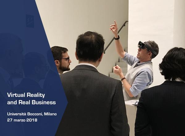 La realtà virtuale alla Bocconi di Milano