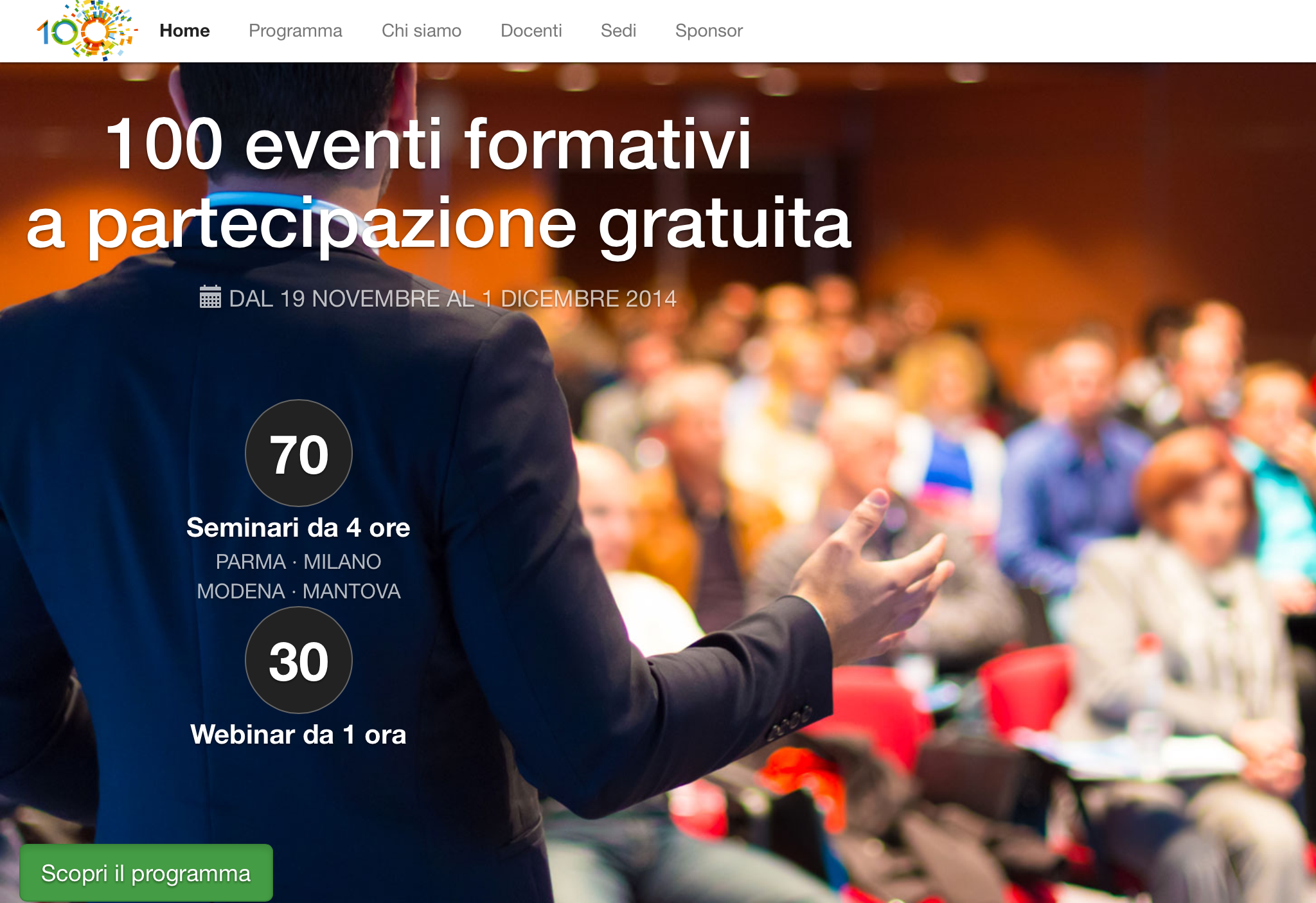 Aggiornamento ultime date dei Seminari e Workshops Information Technology