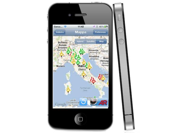 Liberi di muoversi: rilasciato l'app per la segnalazione barriere architettoniche