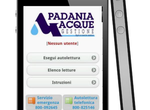 Padania Acque gestione: le funzionalità dell'app