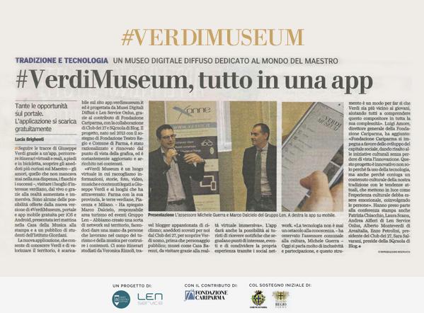 #VerdiMuseum 2017: restyling e tante novità