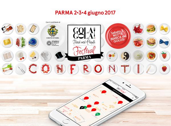 Gola Gola Festival: l'App per il festival del cibo alla sua 2° edizione