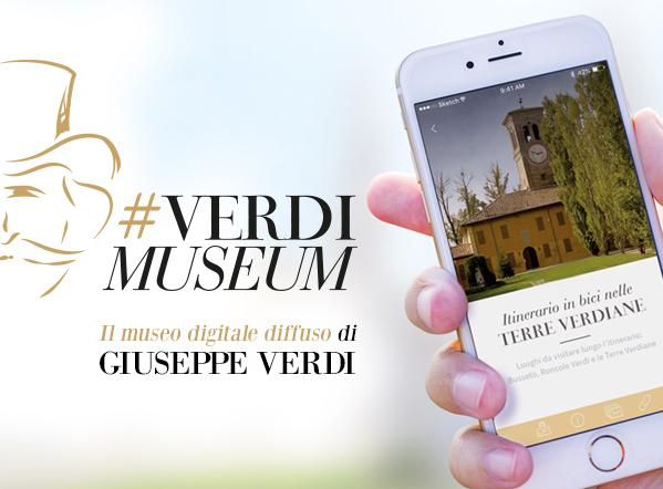 Nuova release dell'App #VerdiMuseum: il museo digitale diffuso di Giuseppe Verdi