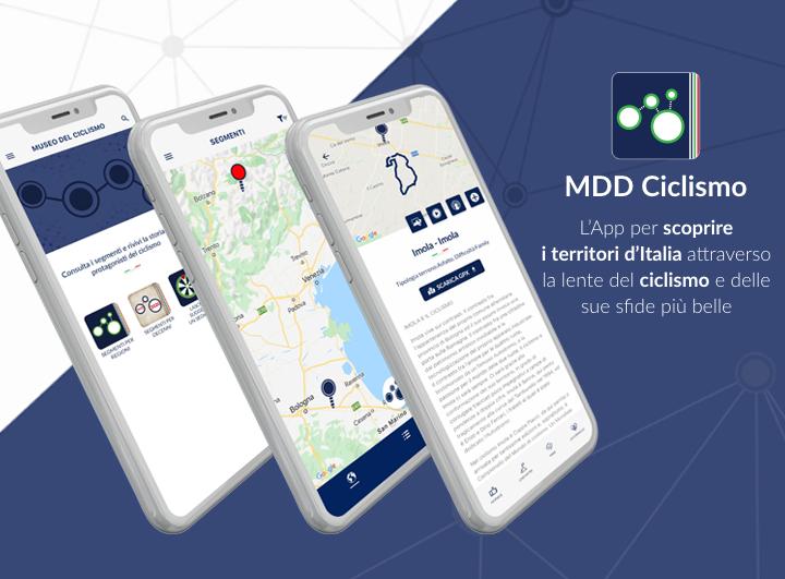 """""""MDD Ciclismo"""" è l'App per il Museo Digitale Diffuso del Ciclismo Italiano"""