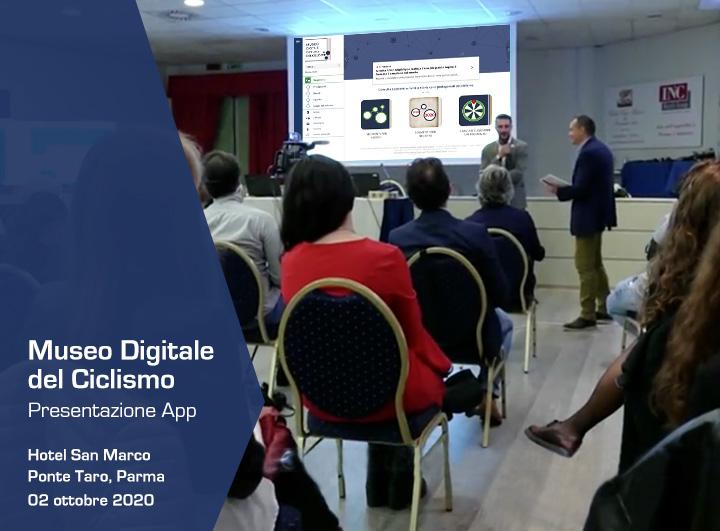 """Presentazione ufficiale dell'App """"MDD Ciclismo"""": il primo Museo Digitale Diffuso del Ciclismo Italiano"""